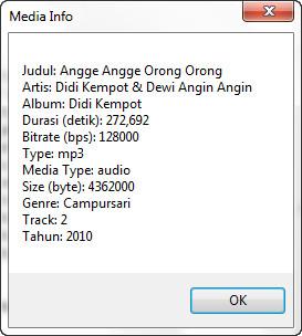 Info Media File FoxPro